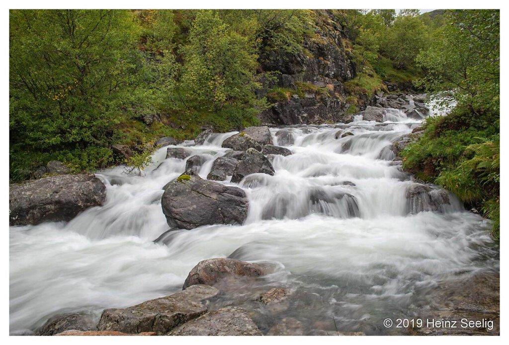 Wasserfall Lofoten